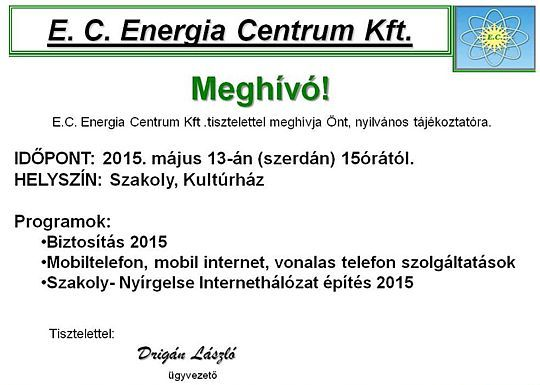 energiacentrum